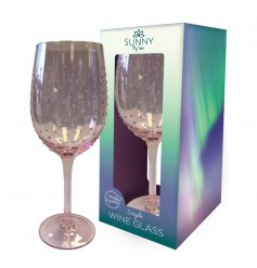 Present this long stemmed glass to any friend or family member who enjoys a crisp wine as a wonderful gift idea