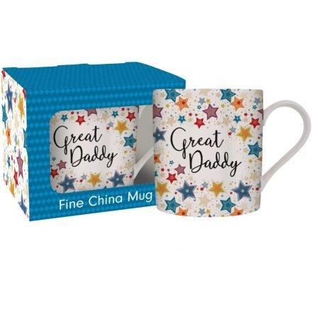 Great Daddy Fine China Mug