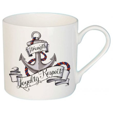 Strength Loyalty Respect Tattoo Mug