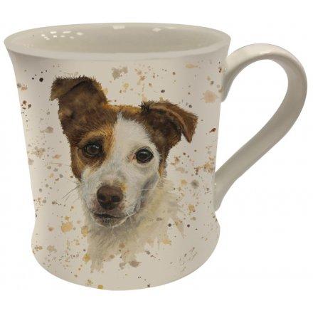 Splash Art Jack Russell Mug