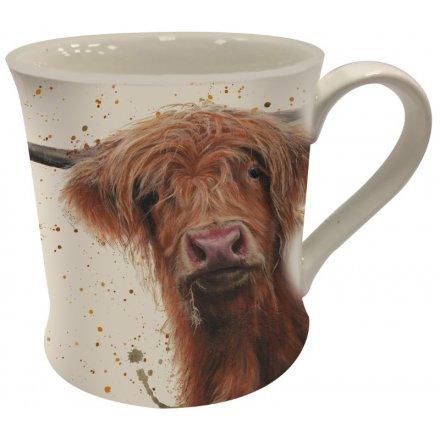Bree Merryn Highland Cow China Mug