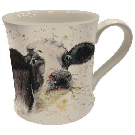 Bree Merryn Splash Art Cow Mug