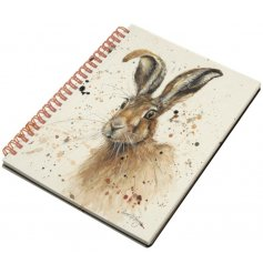 Stay organised with this popular Hare design notebook. A great gift and stationery item.