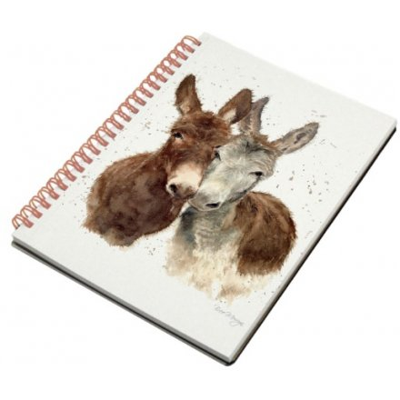 Jack & Diane Donkeys A6 Notebook