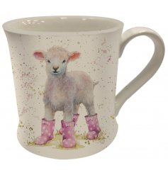 Farm and wild animal mugs available in this popular wholesale range by Bree Merryn