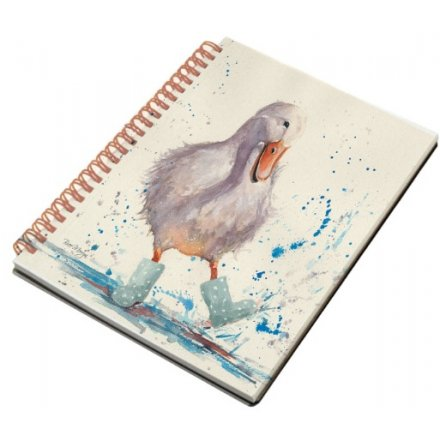 Bree Merryn Puddle Duck A6 Notebook