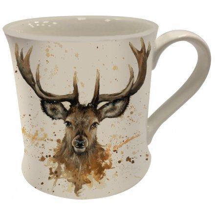 Bree Merryn Stag China Mug