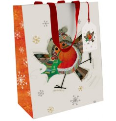 Collection of festive gift bags by Bug Art