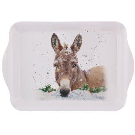 Christmas Donkey Tray, Small