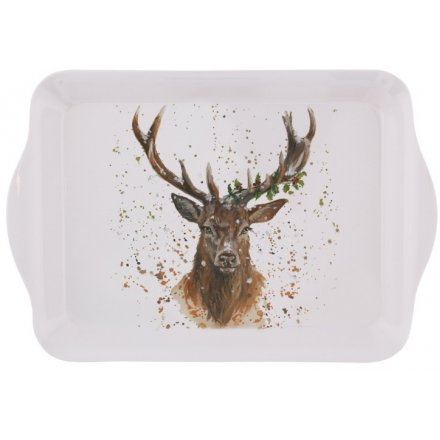 Christmas Stag Tray