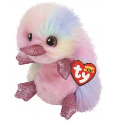 A super soft and snuggly platypus toy from the Beanie Boo TY Range,