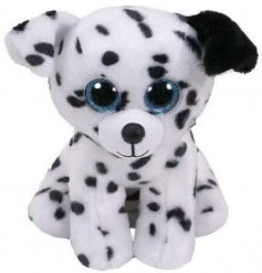 Catcher Beanie Baby TY Soft Toy  A wide eyed snuggly Dalmatian soft toy from the Beanie Baby TY range