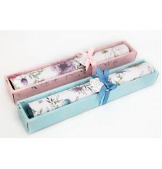 A gorgeous mix of floral themed draw lining paper, each covered with sweetly scented fragrance