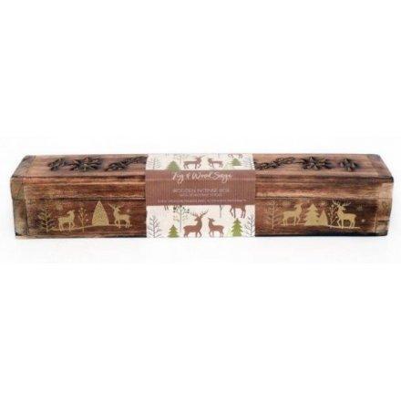 Fig & Wood Sage Incense Boxes