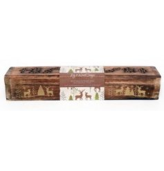 These sweetly scented incense sticks inside la decorated wooden box are part of a delightful new range of Festive Homew