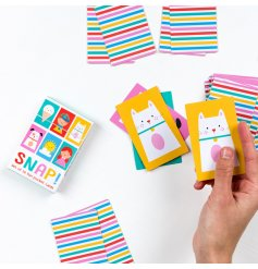 A vibrant and colourful set of snap cards in a well presented pocket sized box.
