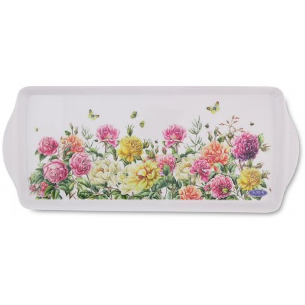 Medium Floral Garden Serving Tray