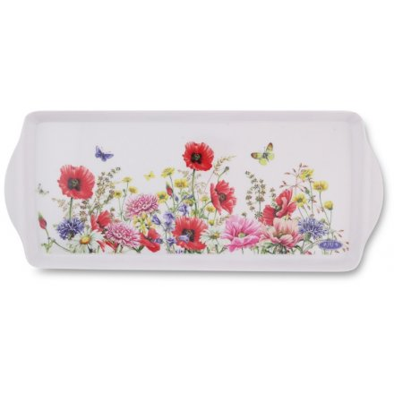 Poppy Garden Medium Tray