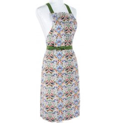 this decorative apron will bring a delightful hint of colour to any kitchen space