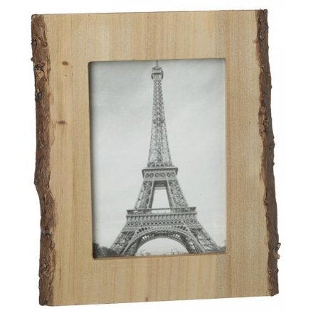 Rustic Bark Photo Frame, 5x7""