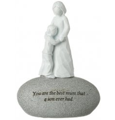 A sweetly sentimental gift idea for any close bonded mother and son relationship