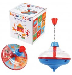 this large spinning top will be sure to bring some Nostalgia to play time!