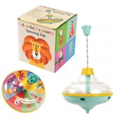 Bring some Nostalgia to your little ones play time with this fun Colourful Creatures Spinner toy