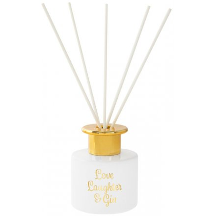 Laughter & Gin Gold Diffuser
