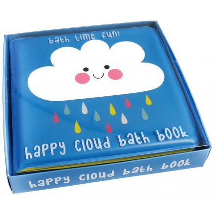 this Happy Cloud themed Bath Book will be sure to add extra fun to any little ones bath time