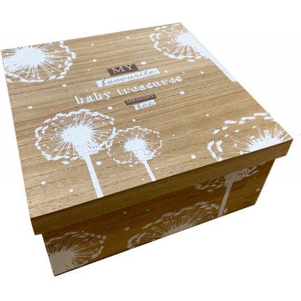 Baby Memory Box 30cm