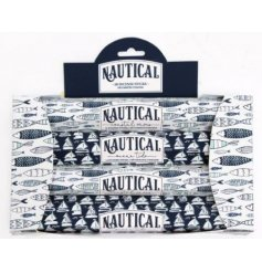 An assortment of sweetly scented incense sticks, perfectly packaged within nautical themed boxes