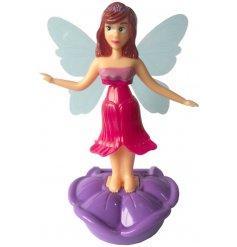 A sweet fluttering fairy solar pal