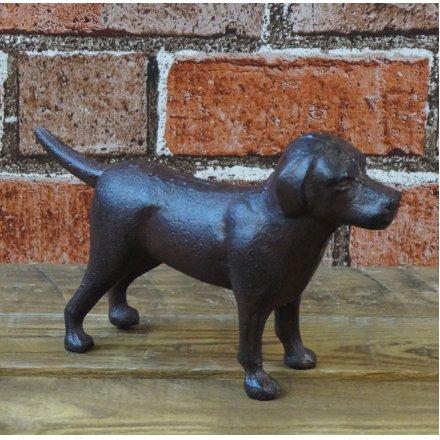 Standing Cast Iron Dog