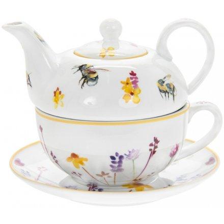 Busy Bee Garden Tea For One
