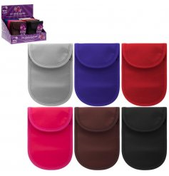 An assortment of coloured pouches, specifically designed to keep your Push To Star Car safe!