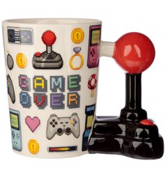 This retro arcade inspired Drinking Mug is a perfect gift idea for any avid gamer