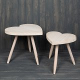 this large heart shaped stool will be sure to add a simple sweetheart feature to any home space