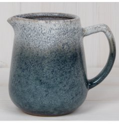 this small Stoneware Jug is part of a stylish Kitchenware Range, sure to add a splash of colour to any theme