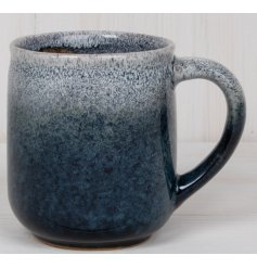 this small Stoneware Mug is part of a stylish Kitchenware Range, sure to add a splash of colour to any theme