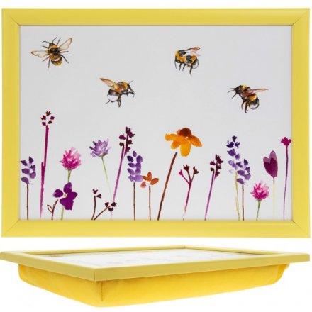 Busy Bee Garden Lap Tray 44cm