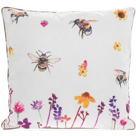 Busy Bee Garden Cushion