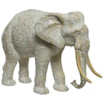 Decorative Mandala Elephant