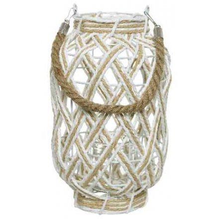 Woven String Lantern, Medium