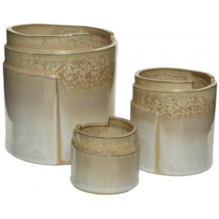 Curved Planter, Set 3
