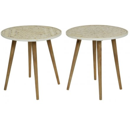 Rattan Table, 2a