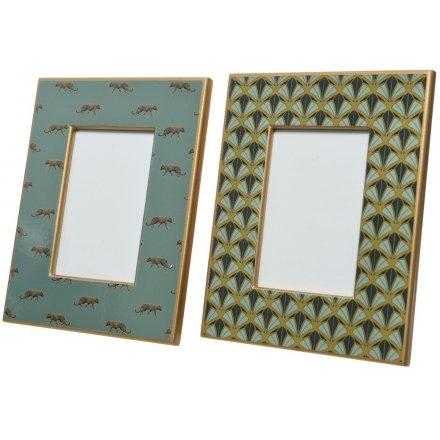 Wild Luxe Decorative Frames, 24cm