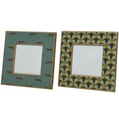 this mix of MDF based frames will be sure to add a quirky edge to any home space