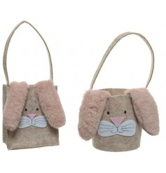 Have fun finding Eggs this Easter with the help of these adorable felt based bags
