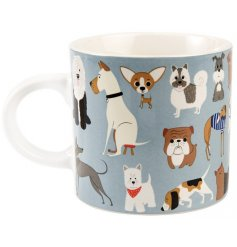Coved with an array of dog breeds, this Best In Show Mug will be sure to please and dog fanatic