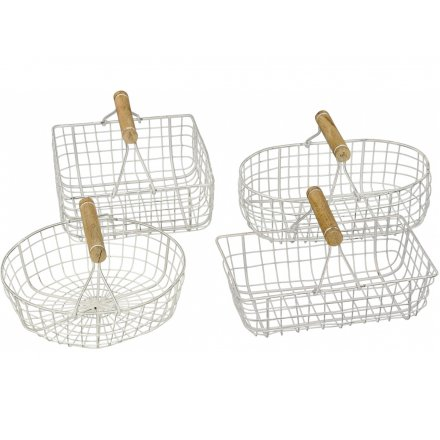 Shabby Chic Baskets, 4a
